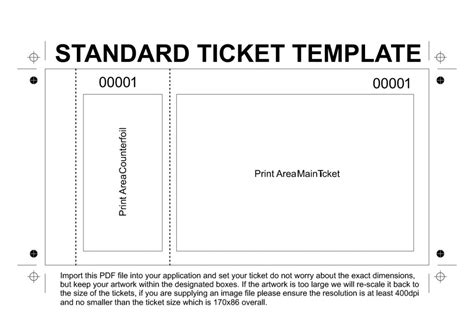 template for raffle tickets to print free printable raffle tickets template template business