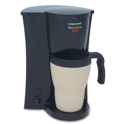 Coffee Maker Black And Decker shop black decker black single serve coffee maker at lowes
