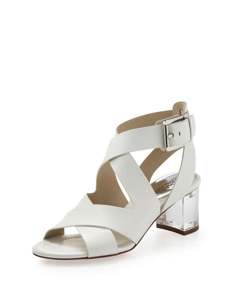 michael kors sandal michael michael kors maribella sandal optic white 350b50b