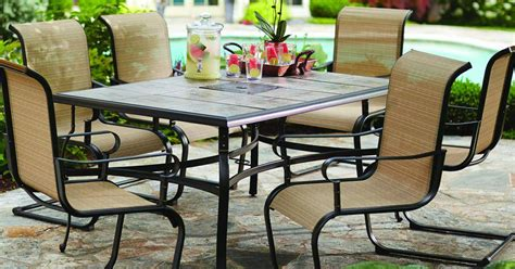 home depot hton bay 7 patio dining set only 299