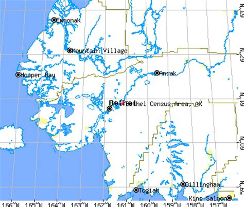 bethel alaska usa map bethel census area alaska detailed profile houses real