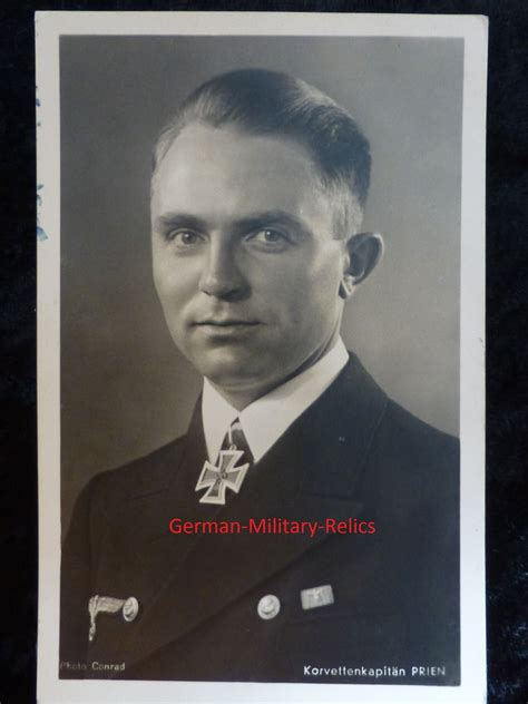 german  boat photo post card captain guenther prien wwii photo postkarte  boot