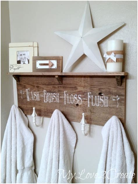 Bathroom Towel Hook Ideas 15 Cool Diy Towel Holder Ideas For Your Bathroom