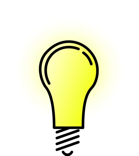 lightbulb clip light bulb clipart clear background pencil and in color
