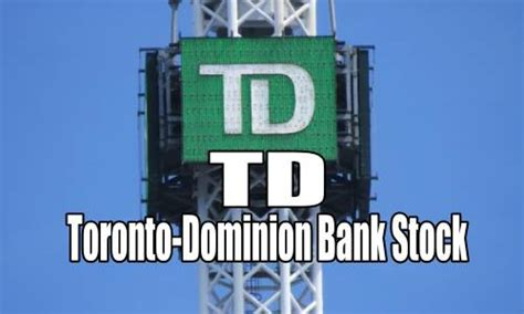 td bank toronto dominion selling options for income in toronto dominion bank stock