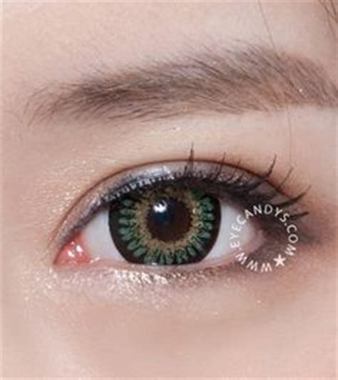 green colored contacts & circle lenses on pinterest   126 pins