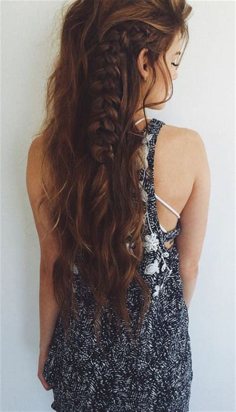 chic messy hairstyles for fall 2015 unique braided 30 boho chic hairstyles for 2016 pretty designs