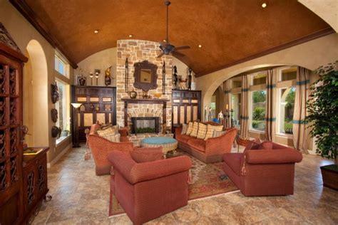 gorgeous mediterranean family room designs full