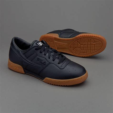 sepatu sneakers fila original fitness black