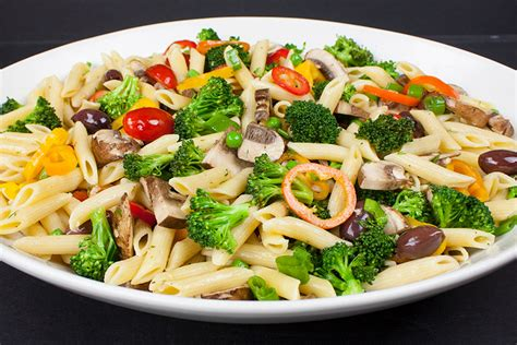 pasta salad vegetarian lemon veggie pasta salad don t sweat the recipe