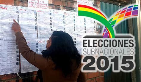 jurados electorales bolivia lista de jurados electorales 2015 bolivia consultar