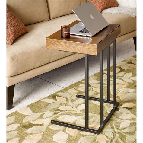 mini pull out sofa winston side sofa table w mini pull out drawer