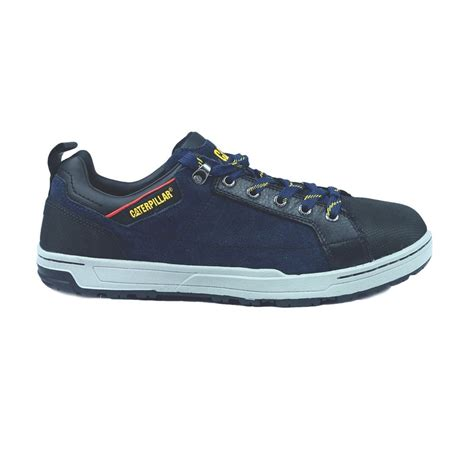 caterpillar low boots safety navy brode low safety trainer shoes army navy stores uk