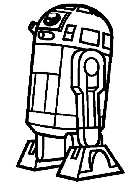 coloring page r2d2 free coloring pages of r2 d2