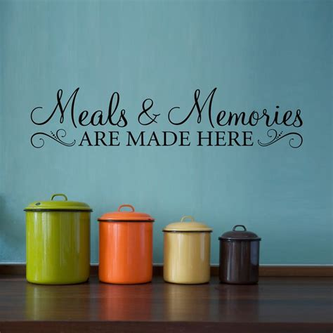 wall stickers and quotes best 25 kitchen quotes ideas on kitchen wall