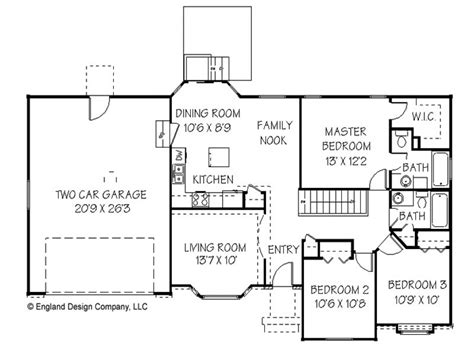ranch house floor plan simple ranch house plan unique ranch house plans simple