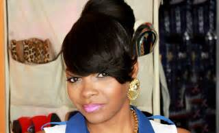 black hairstyles with bun and bangs pictures on bun hairstyles with bangs for black women