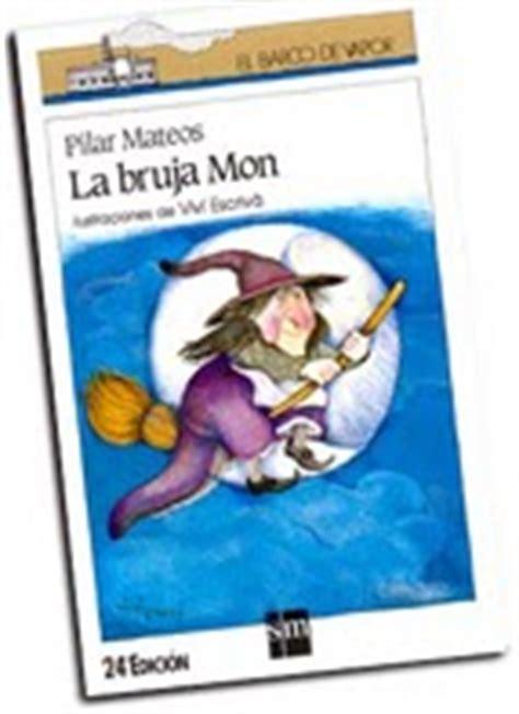 libro la bruja mon el buscando en el baul de los maestros ficha de lectura de la bruja mon