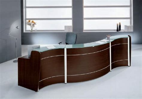 modern desk furniture modern reception furniture office desings finding desk