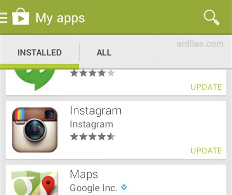 instagram tutorial for android cara update instagram di android tutorial blogger