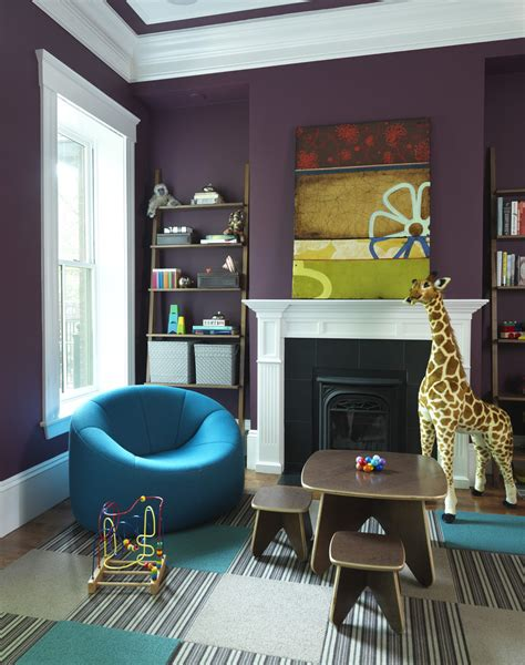 Purple Living Room Wall Color 10 Purple Modern Living Room Decorating Ideas Interior