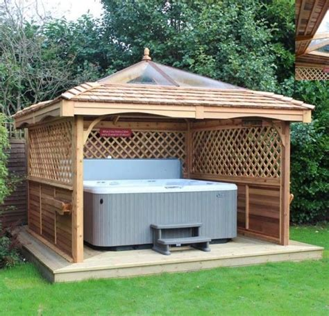 gazebo ideas  hot tubs hot tubs tubs  hot tub gazebo