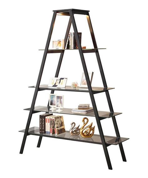 black triangle bookshelf