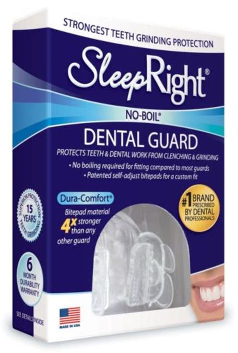 sleepright dura comfort dental guard sleepright by splintek no boil dura comfort dental guard