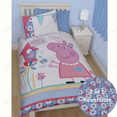 pig bedding peppa pig and george bedding single double junior