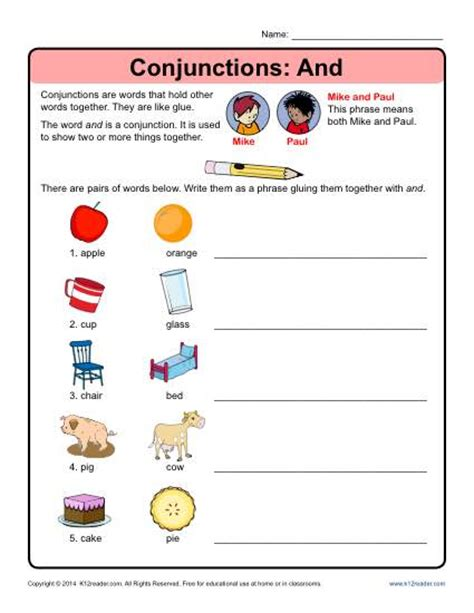 Conjunction Worksheets by Conjunctions Quotes Like Success