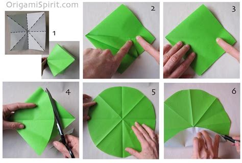 Circle Origami Paper - tarjetas imprimibles c 243 mo hacer un molinete inflable para