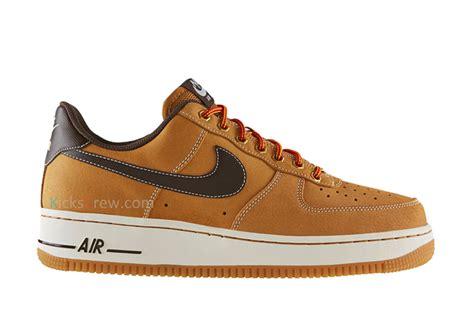 Promo Nike Airforce 1 Low Brown Premium Original Sepatu Kerja Kets nike air 1 low quot wheat quot sbd