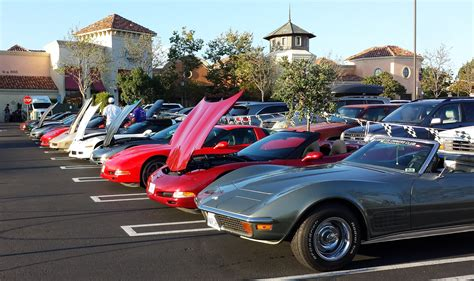 walk corvette display corvette owners club of