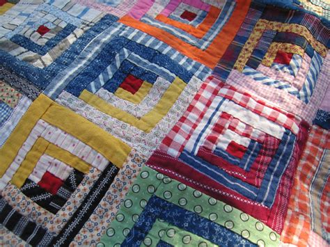 Log Cabin Quilts 100 days week of blocks introduction the modern quilt guild