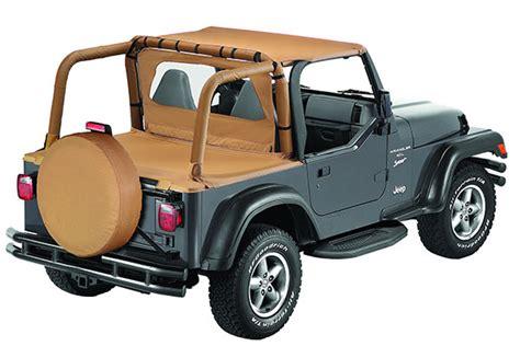 Top Jeep Accessories Bestop 80041 35 Bestop Windjammer Air Flow Deflector