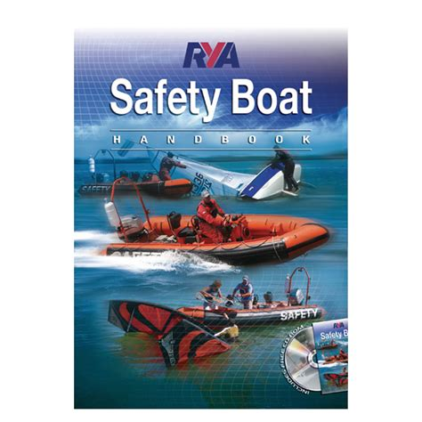 boat safety products rya safety boat handbook powerboating and personal
