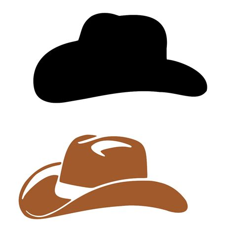 logo on cowboy hat pic of cowboy hat clipart best