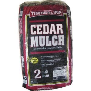 2 cu ft cedar mulch my garden