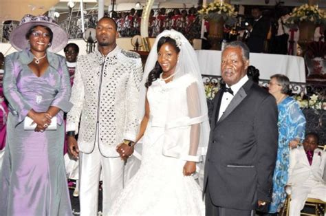 President Sata And First Lady At Bona Mugabes Wedding In | president sata and first lady at bona mugabe s wedding in