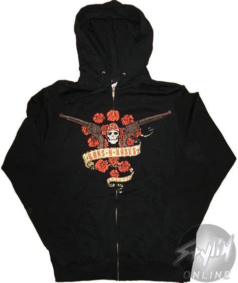guns n roses wreath hoodie