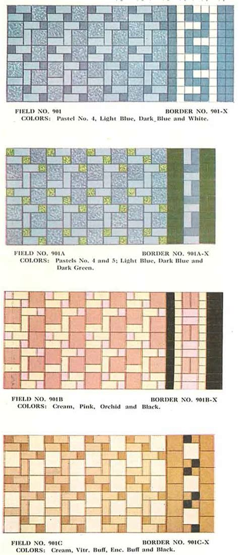 color pattern tiles 112 patterns of mosaic floor tile in amazing colors