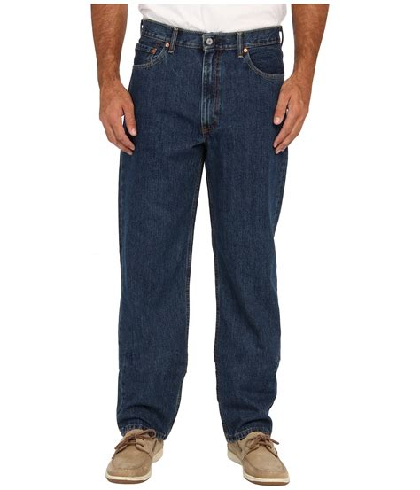 most comfortable levis jeans levi s 174 big tall big tall 550 relaxed fit at zappos com