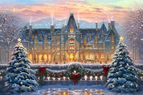 christmas at biltmore 174 the thomas kinkade company