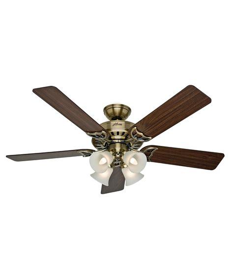 hunter heathrow 52 inch ceiling fan hunter fan 53063 studio series 52 inch ceiling fan with