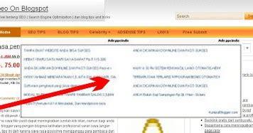 membuat iklan menghasilkan uang cara membuat iklan melayang atau pop up di tengah blog