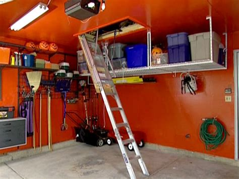 Garage Attic Ladders by How To Install An Attic Ladder How Tos Diy