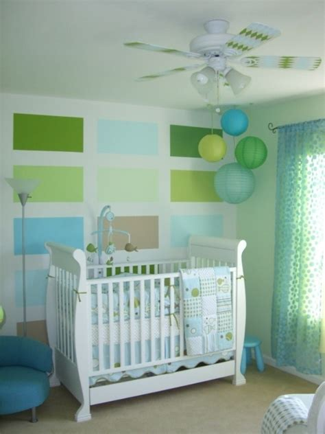 23 ideas to paint nursery walls in bright colors kidsomania