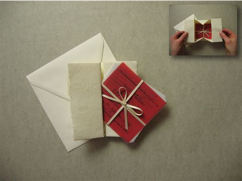 Collapsible Origami Box - collapsible box traditional wedding invitations happy