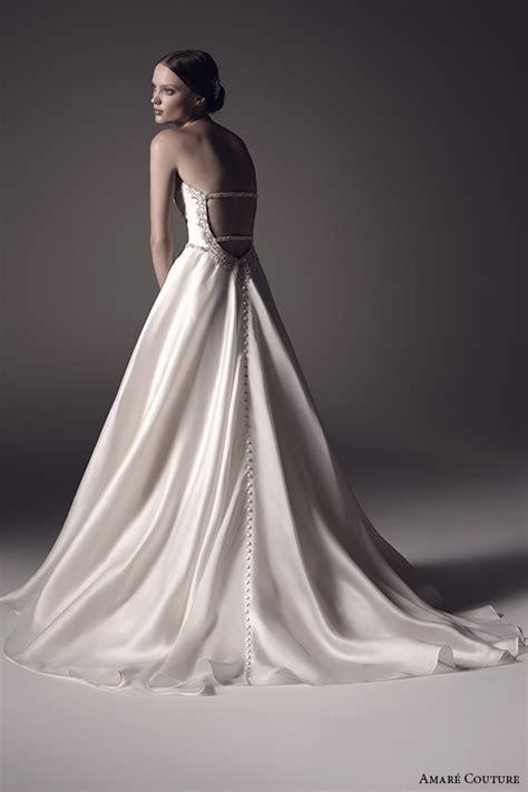 satin silk wedding dresses amar 233 couture 2016 wedding dresses wedding inspirasi