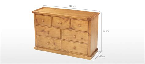 3 4 Chest Of Drawers by Pine 3 4 Chest Of Drawers Quercus Living